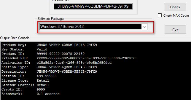 Những tính năng của phần mềm Microsoft Activation Scripts
