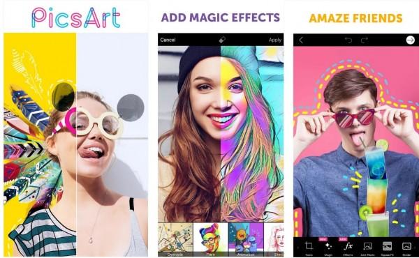 Các bức ảnh nghệ thuật được tạo ra từ công cụ bút vẽ PicsArt