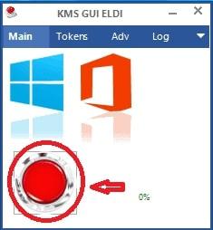 Nhấn Icon màu đỏ