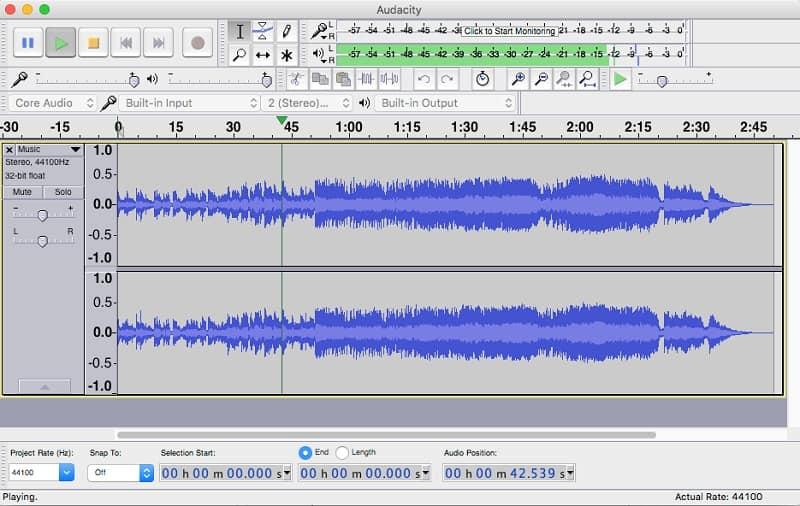 Tách beat nhạc với audacity dễ dàng