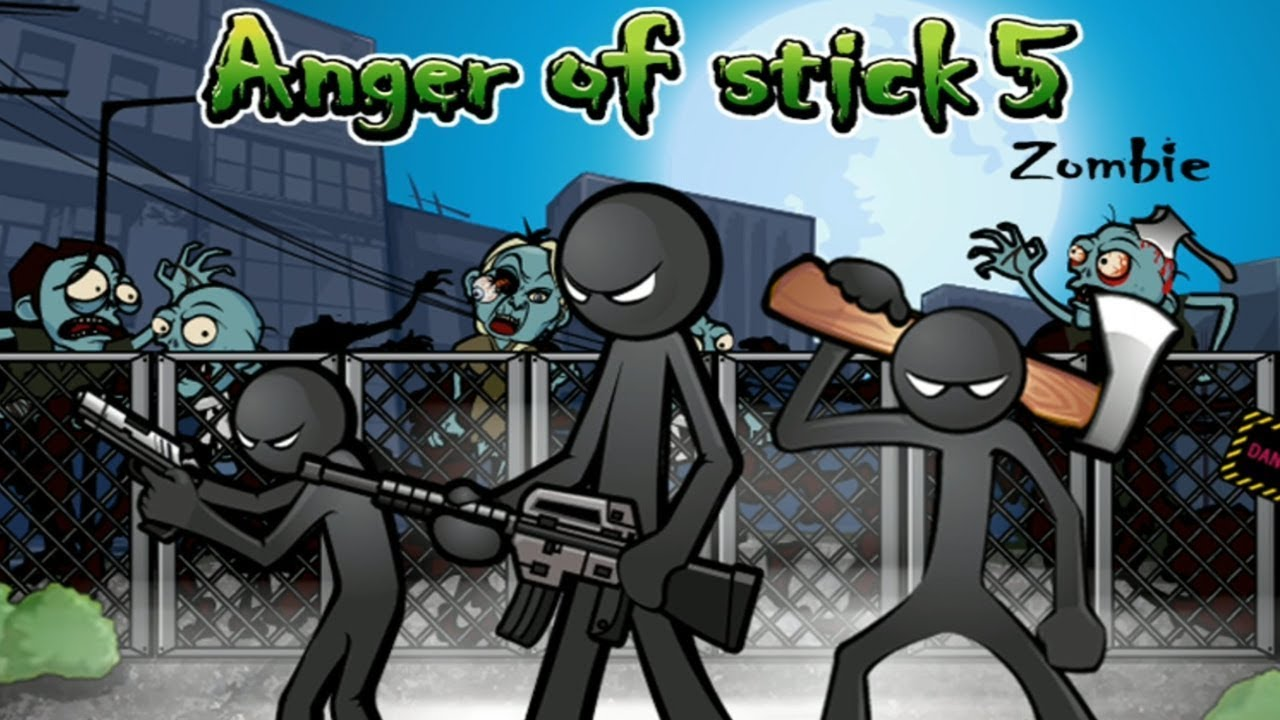 Game anger of stick