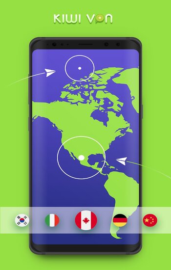 Có thể đổi VPN sang bất cứ quốc gia nào trong danh sách
