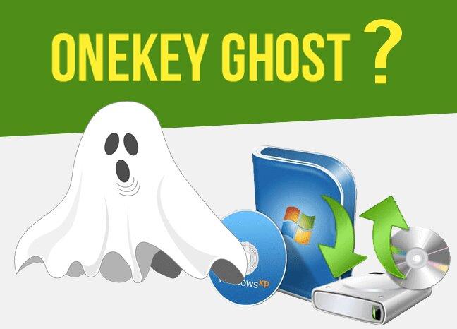 Phần mềm Onekey Ghost đa dạng các tác vụ liên quan đến dữ liệu
