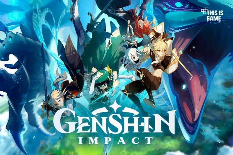 Trò chơi Genshin Impact.
