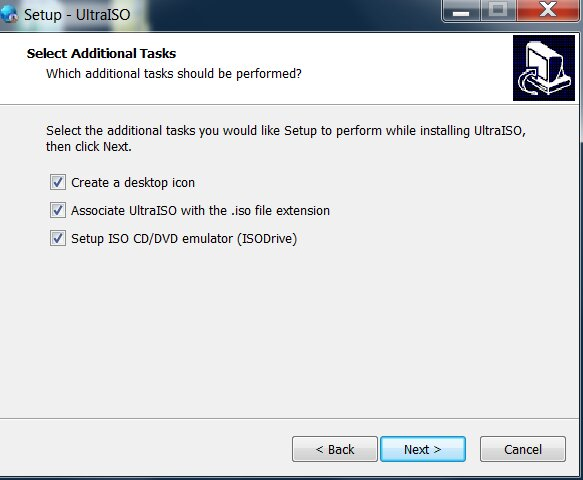 Có thể tùy chọn hiển thị icon phần mềm ở Desktop