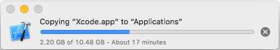 Chờ cho tới khi việc copy hoàn thành.