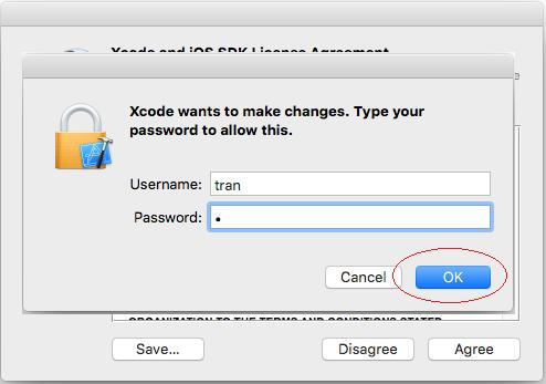 Cài đặt Xcode